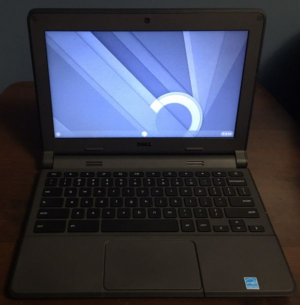 Dell Chromebook 11.6 inch (16GB, Intel Celeron, 2.16 GHz, 2GB) Laptop - Black -