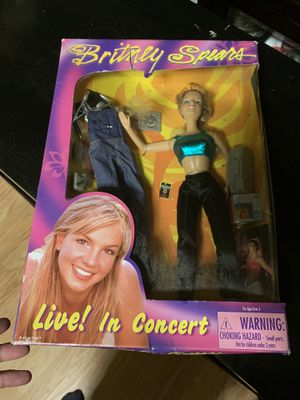 Britney Spears Live! In Concert Barbie doll for Sale in Lewisville, TX