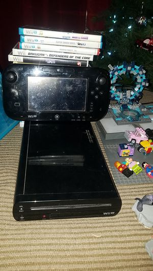 Nintendo Wii U game Council with accessories and for Sale in Chino, CA