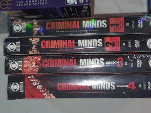 Criminal minds seasons 1-4 for Sale in Spring Hill, FL