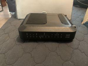 Cisco modem WiFi router DPC3827 Atlantic Broadband for Sale in Miami Beach, FL