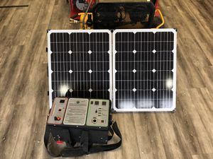 Humless Fuel-less Generator w/emp bag and solar panel kit #7691-1 for Sale in Medford, MA
