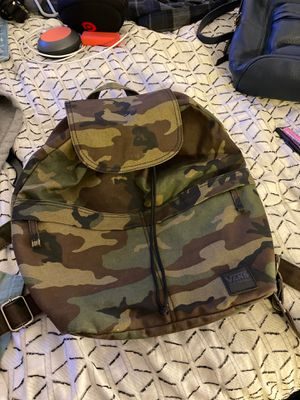 Vans camo backpack for Sale in West Covina, CA