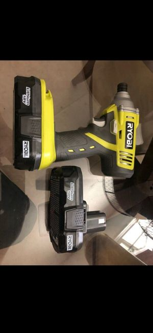 Ryobi impact drill with battery and charger brand new $40 O.B.O for Sale in Tacoma, WA