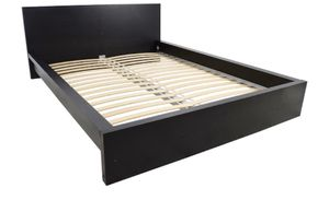 Ikea Black Bed Frame Queen (disassembled) for Sale in Orlando, FL