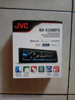 JVC Car Stereo Receivers KDX330BTS Digital Media Receiver for Sale in West Palm Beach, FL