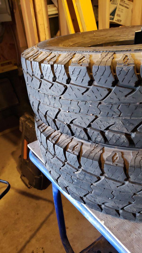 Lt235/85r16. 2 tires