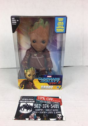 Marvel guardians of the galaxy volume two groot Avengers groot Avengers Spiderman Iron Man Black Panther Captain America for Sale in La Habra, CA