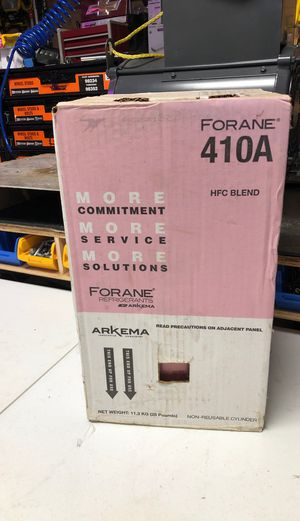 R-410A Refrigerant. for Sale in Catoosa, OK