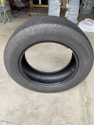 4 Used Continental Tires - FREE! for Sale in Chesterfield, VA