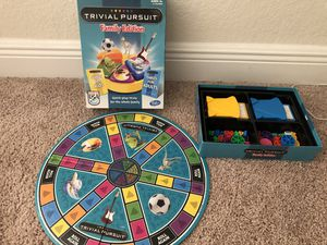 3 Board Games...Triv Pursuit, Apprentice & Rich Dad, kids edition for Sale in Cape Coral, FL
