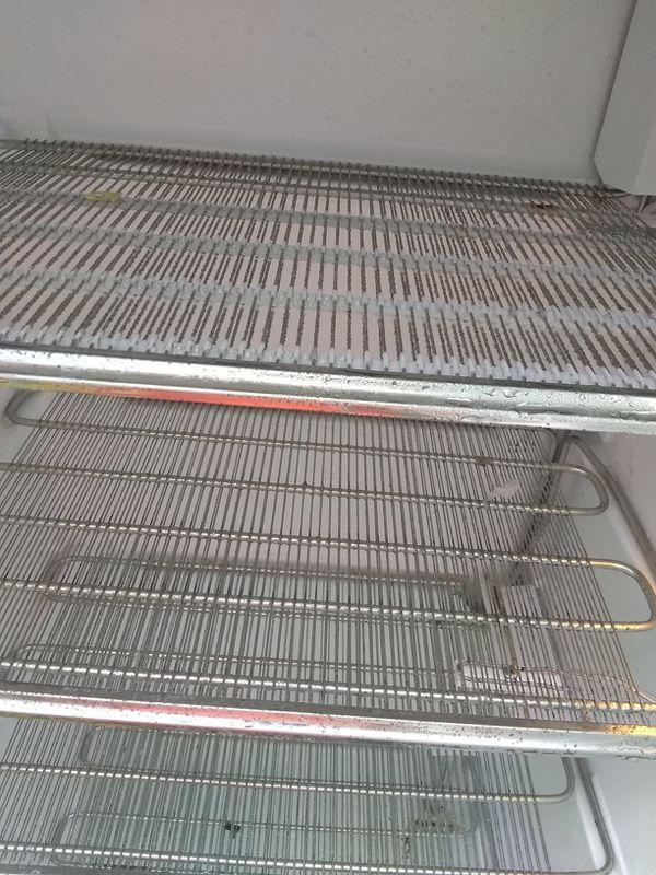 United upright freezer