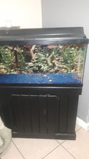 Fish tank 30 gallons for Sale in Miami, FL
