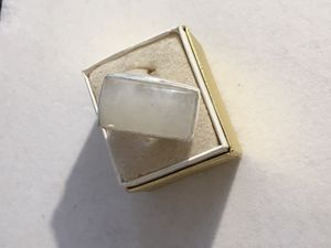 Rectangular moonstone ring for Sale in Baltimore, MD