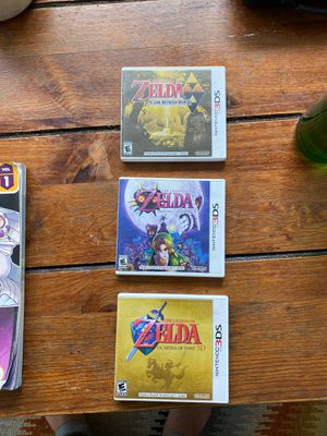 Zelda Games Nintendo's 3DS (set of 3) for Sale in Seattle, WA