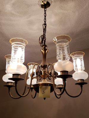 Chandeliers and misc. lighting for Sale in Puyallup, WA