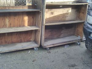 Carts on 4in heavy duty caster wheels for Sale in Fresno, CA