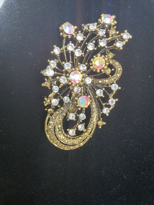 Vintage Aurora Borealis Brooch for Sale in New York, NY