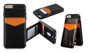 Black Leather Back Wallet Case for iPhone 6/6s for Sale in San Diego, CA