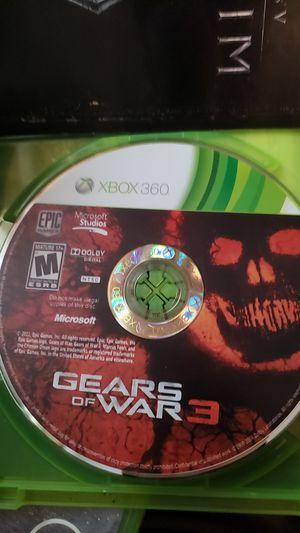 Gears of War 3 xbox360 pre owned for Sale in Frostproof, FL