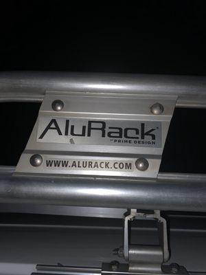 Price Drop!!!!Prime Design Alu-Rack with Ladder Clamp down for Transits for Sale in Hemet, CA