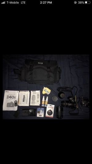 Nikon D40 camera for Sale in Seattle, WA