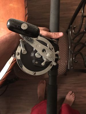 Daiwa 900h reel and rod for Sale in Houston, TX