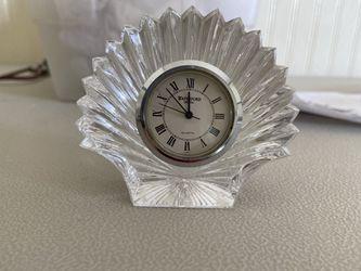 waterford crystal mini desk clock for Sale in Hudson,  FL