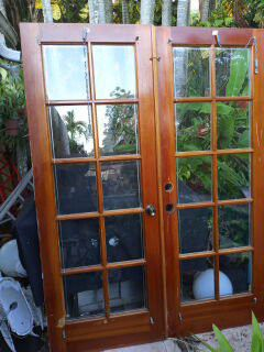 """Doble French Doors.30""""x 80"""" for Sale in Miami, FL"""