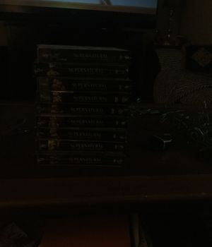 Supernatural seasons 1-9 never opened for Sale in Weston, MA