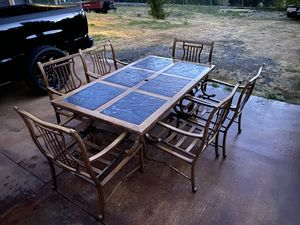 Hampton Bay outdoor patio dining set. for Sale in Puyallup, WA
