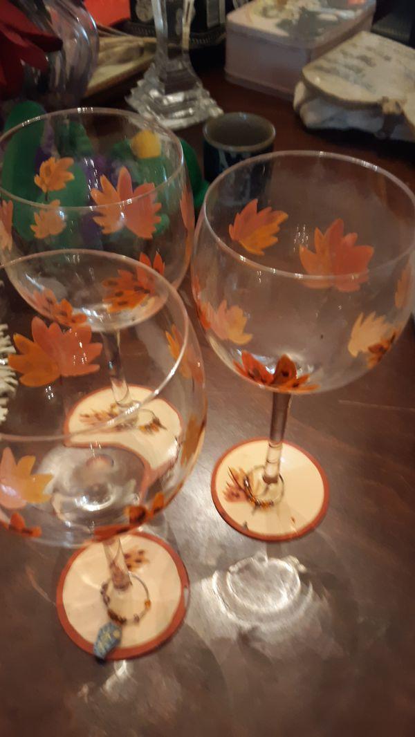 3 glass set