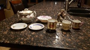 GREAT GRANDMAS TCHOTKES, 9 PIECES, FROM GERMANY, JAPAN, OCCUPIED JAPAN, AUSTRIA, LEFTON CHINA for Sale in South Bend, IN