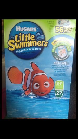 Huggies little swimmer pants large boxes for Sale in Willingboro, NJ