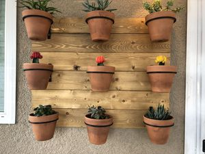 Handmade succulent wall holder for Sale in Upland, CA