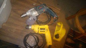 DeWalt and Bosch drills for Sale in Prineville, OR