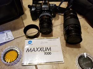Minolta Maxxum 7000 for Sale in Wichita, KS
