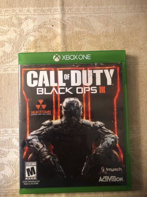 Cod Black Ops 3 for Sale in Springfield, VA