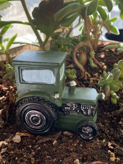Mini Tractor For Gnome Or Fairy Garden for Sale in Bloomfield,  NM