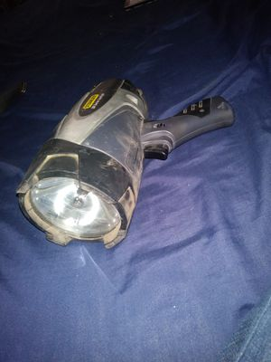 Rechargeable spot light..will trade for wireless drill for Sale in El Paso, TX