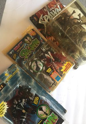 Spawn figures for Sale in Fresno, CA