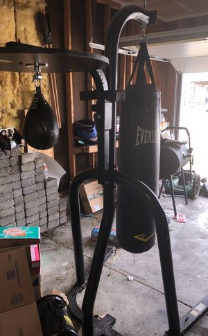 Heavy and speed bag set for Sale in Columbus, OH