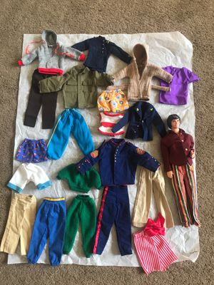 Ken Clothing And Doll for Sale in Arcadia, CA