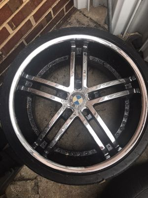 Rims and tire for sale for Sale in Charlottesville, VA