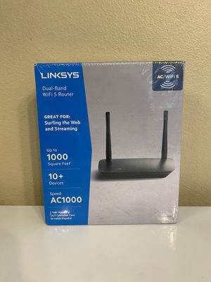 Linksys Dual Band WiFi Router 5 Port for Sale in Hammond, LA