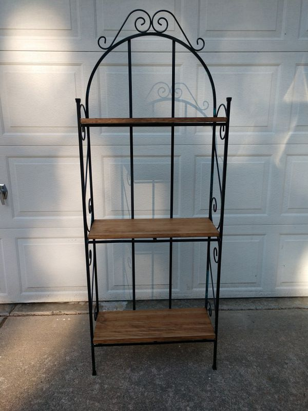 3 shelf baker's rack