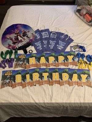 Fortnite party set for Sale in Long Beach, CA