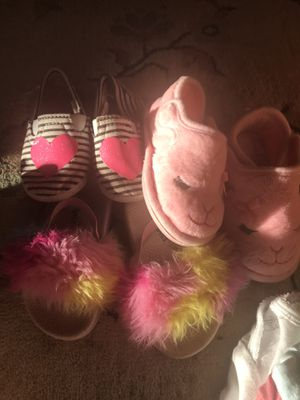 Size 5-6 small toddler shoes Trolls Spring and summer for Sale in Columbus, OH