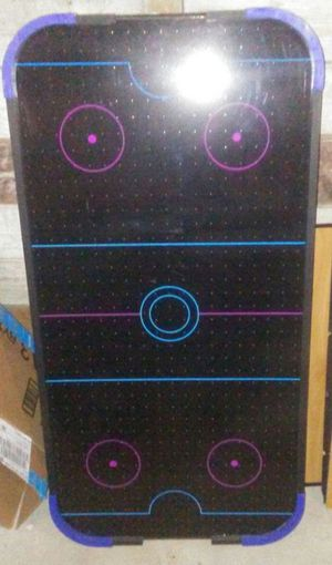 Air hockey table that stands about three and a half feet 4 for Sale in East Providence, RI