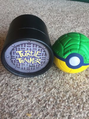 Turtle trainer pokemon like ball stress ball for Sale in Lakeside, CA